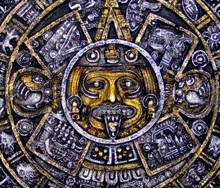 El Sol Acteca y Maya
