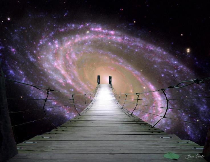 El Agujero Galáctico Dimensional. Damos las gracias al autor de esta maravillosa composición!.
