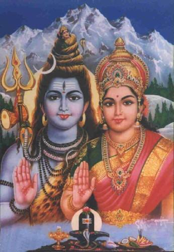 Siva y Shakti, la pareja tántrica